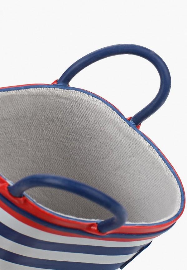 Фото 6 - Резиновые сапоги Котофей синего цвета