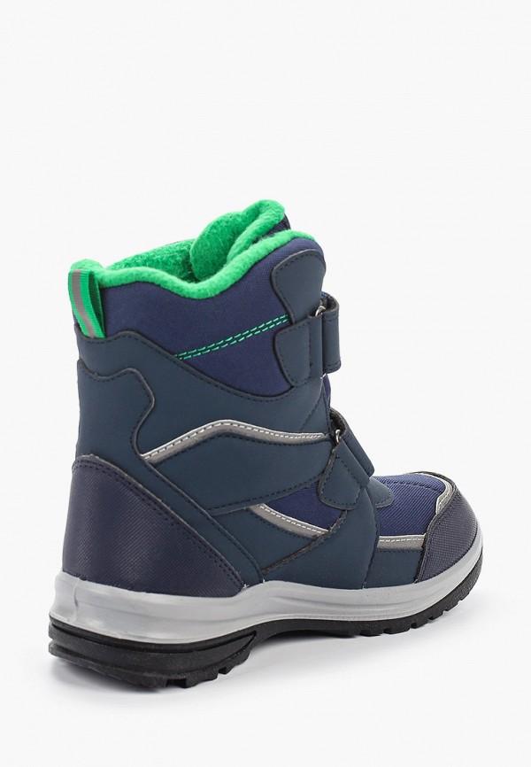 Фото 3 - Ботинки Котофей синего цвета