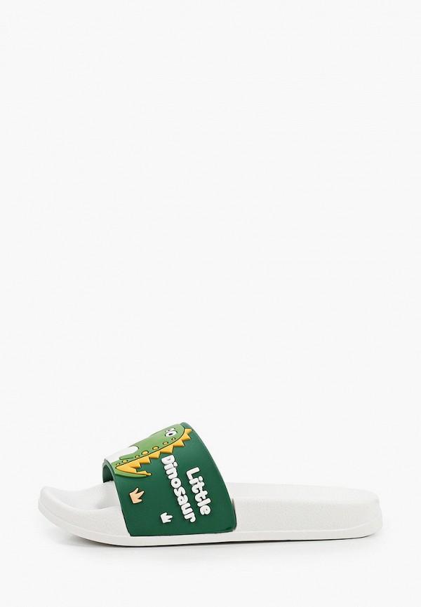сланцы котофей для мальчика, зеленые