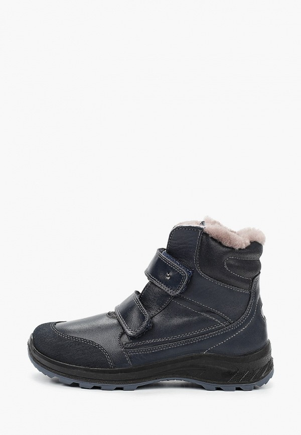 ботинки котофей для мальчика, черные