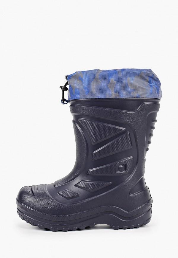резиновые сапоги котофей для мальчика, синие