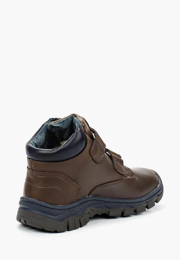 Фото 2 - Ботинки Котофей коричневого цвета