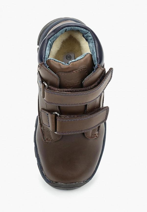Фото 4 - Ботинки Котофей коричневого цвета