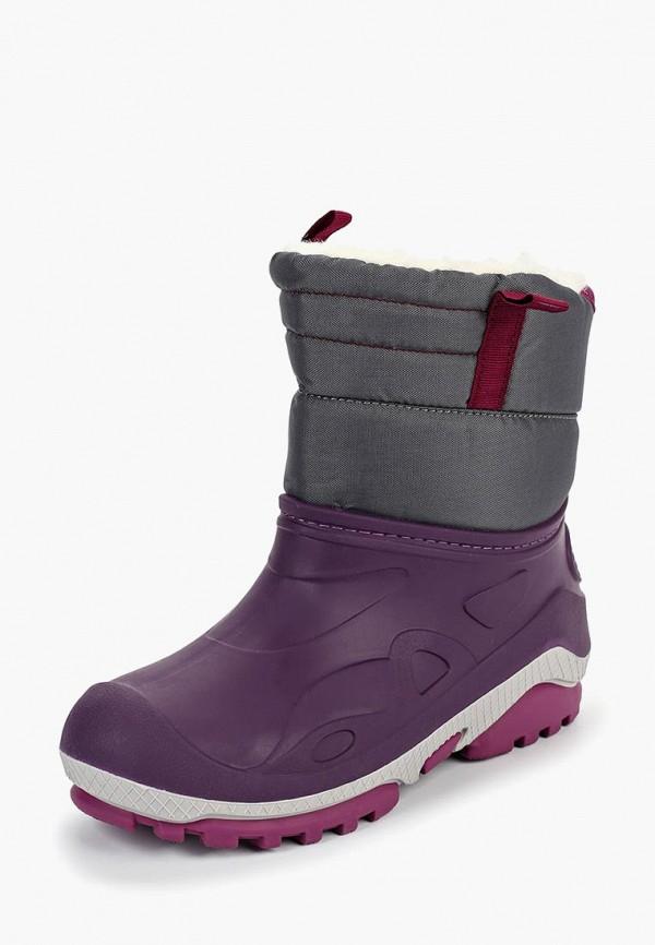 сапоги котофей для девочки, фиолетовые