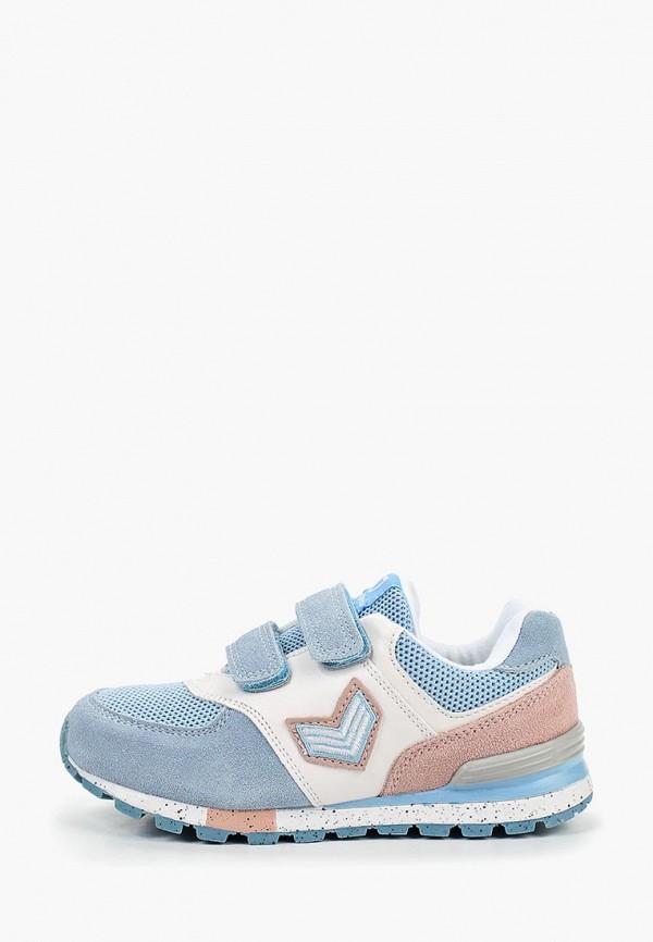 кроссовки котофей для девочки, голубые