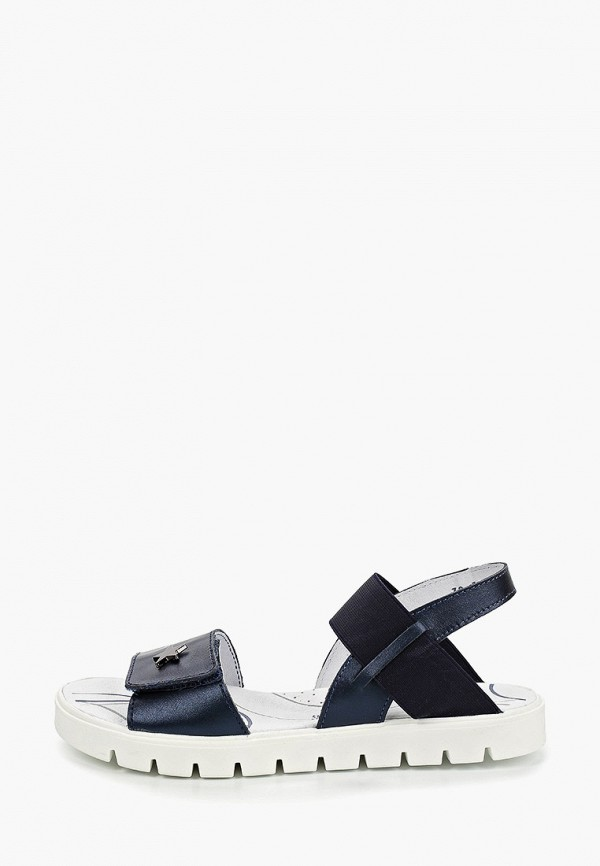 сандалии котофей для девочки, синие