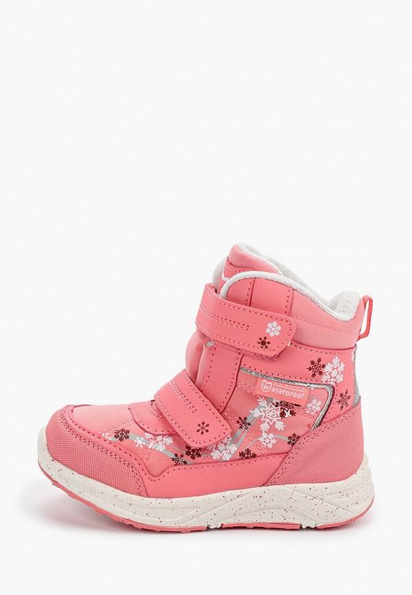 ботинки котофей для девочки, розовые