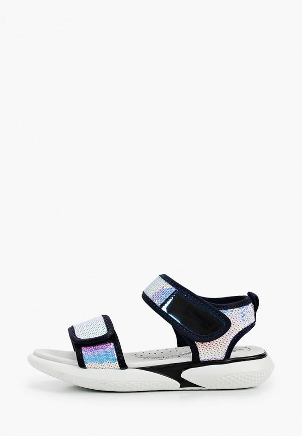 сандалии котофей для девочки, разноцветные