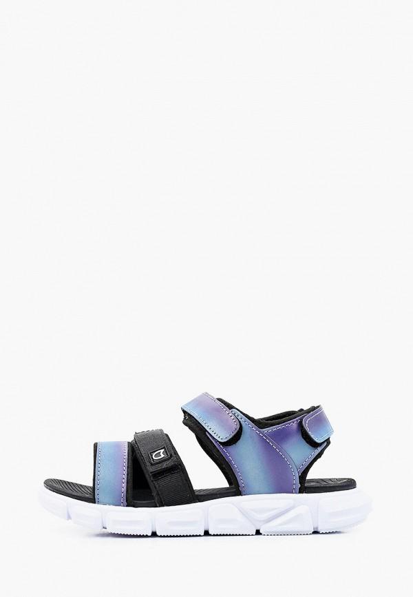 сандалии котофей для девочки, фиолетовые