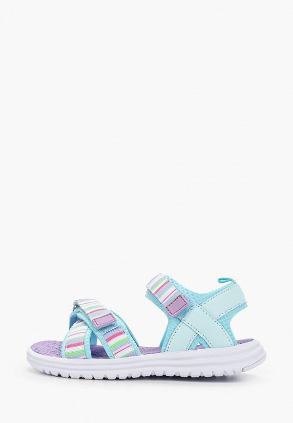 сандалии котофей для девочки, голубые