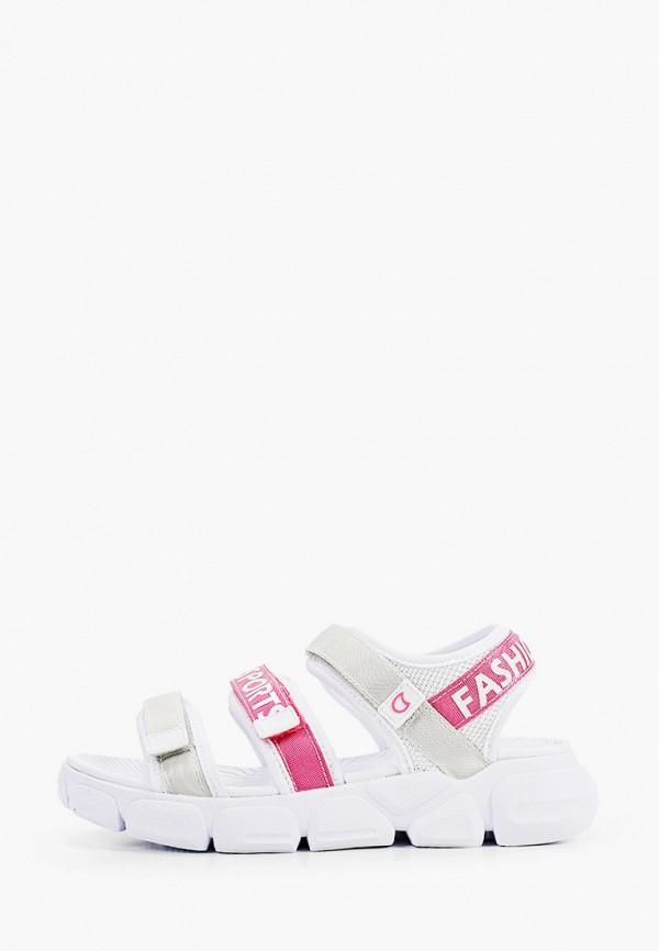 сандалии котофей для девочки, белые