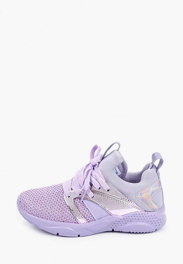 кроссовки котофей для девочки, фиолетовые