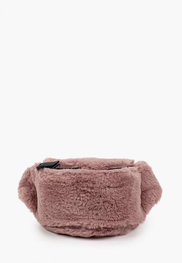 поясные сумка котофей для девочки, розовая
