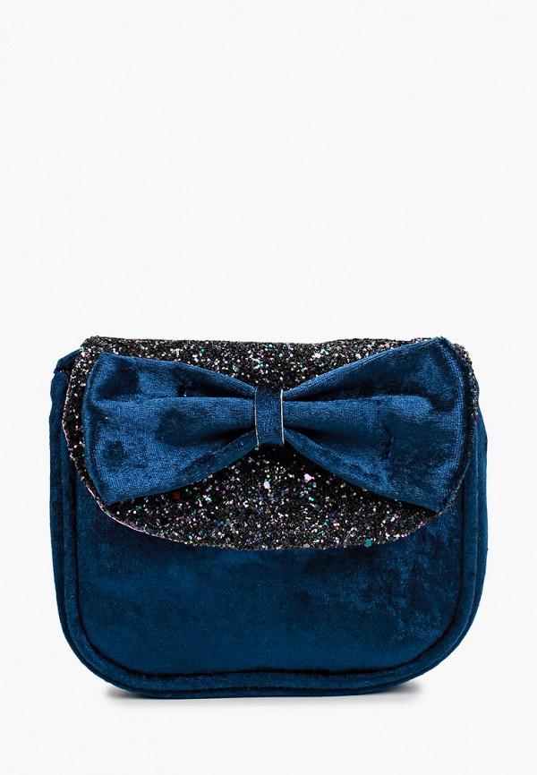 сумка котофей для девочки, синяя