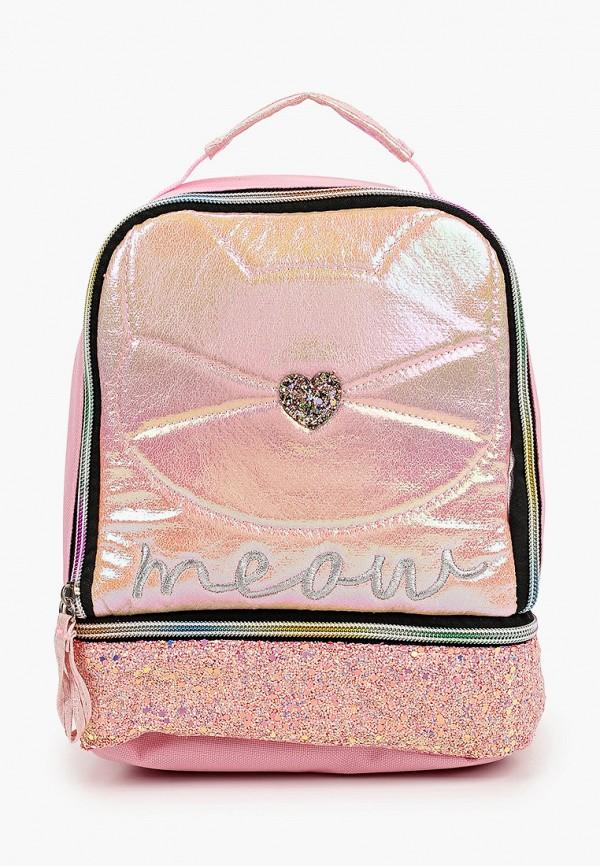 сумка котофей для девочки, розовая