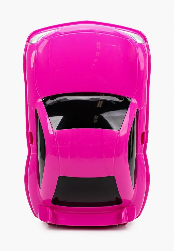 чемодан котофей для девочки, розовый