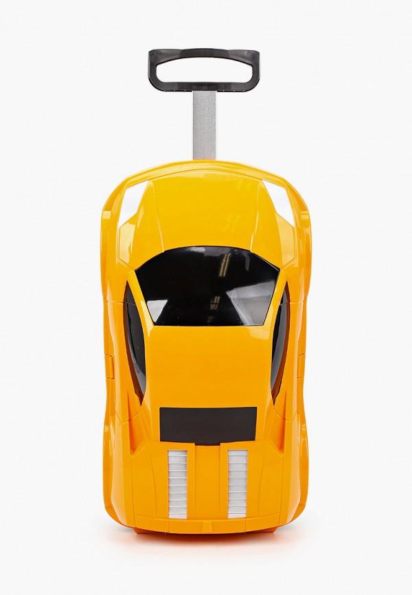 чемодан котофей малыши, оранжевый