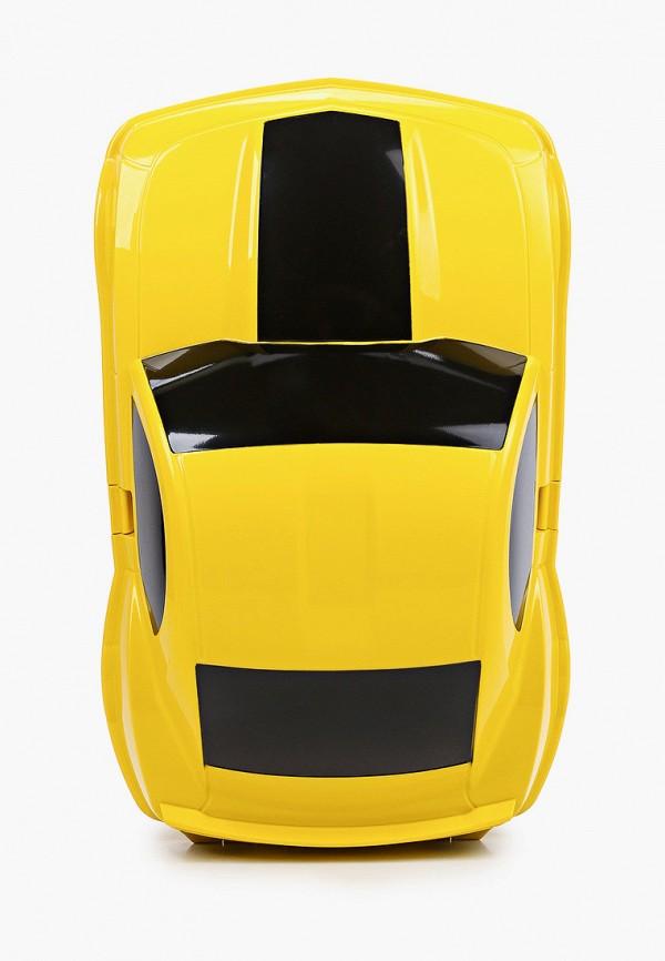 чемодан котофей малыши, желтый