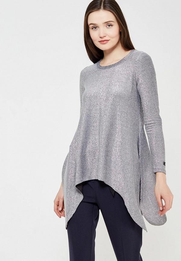 Купить Блуза Koralline, ko013ewzcv55, серебряный, Осень-зима 2017/2018
