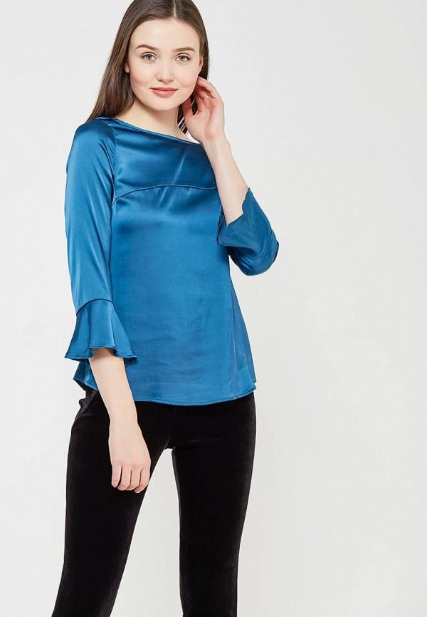 Купить Блуза Koralline, ko013ewzcv78, синий, Осень-зима 2017/2018