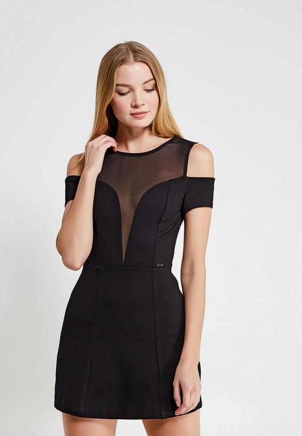 Купить Платье Koralline, ko013ewzcw79, черный, Осень-зима 2017/2018
