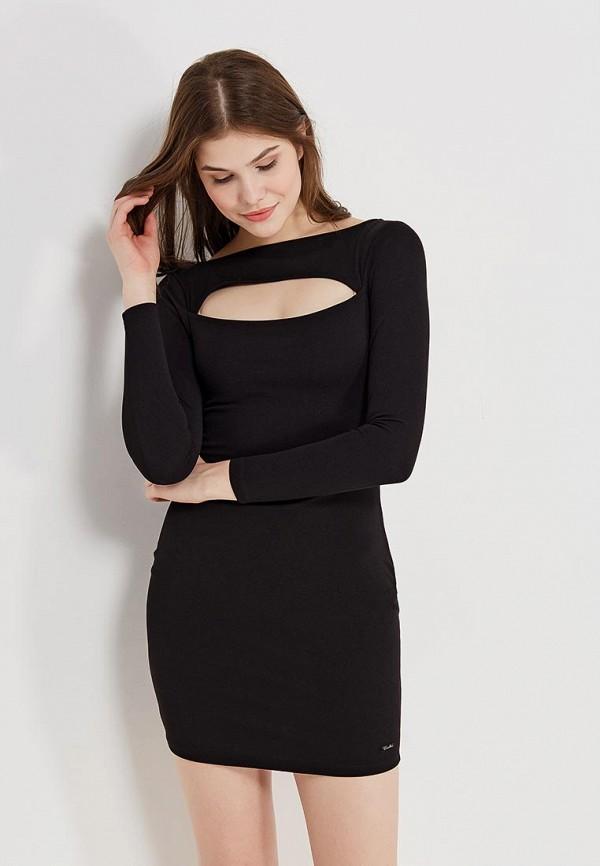 Купить Платье Koralline, ko013ewzcw89, черный, Осень-зима 2017/2018