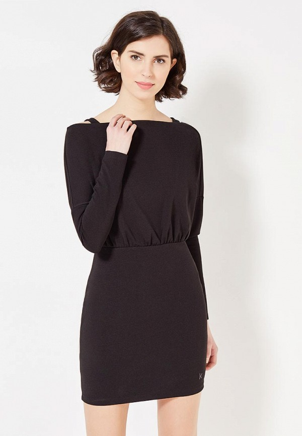 Купить Платье Koralline, ko013ewzcw91, черный, Осень-зима 2017/2018
