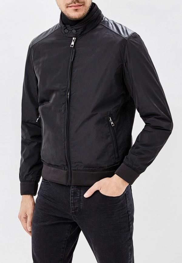 мужская куртка космос, черная