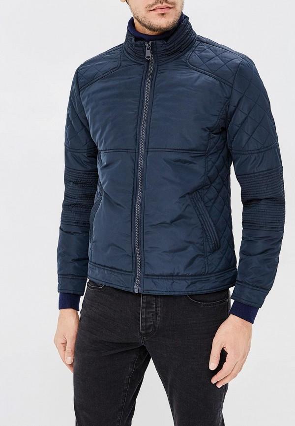 мужская куртка космос, синяя