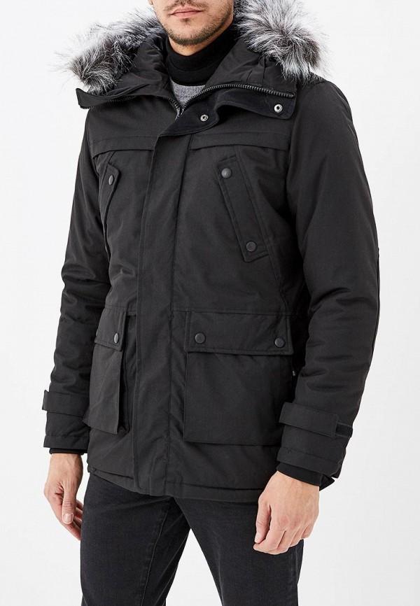Купить Куртка утепленная Космос, ko014emdhph3, черный, Весна-лето 2019