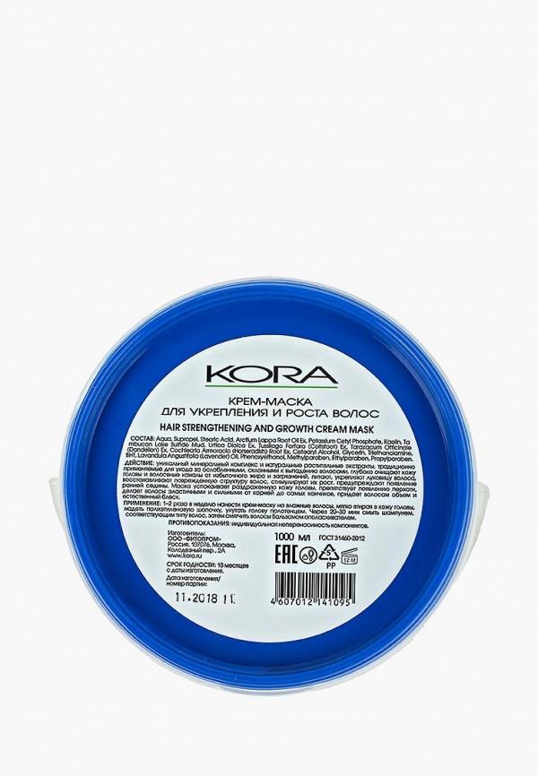 Купить Маска для волос Kora, для укрепления и роста волос, ko015lweazx1, прозрачный, Весна-лето 2019