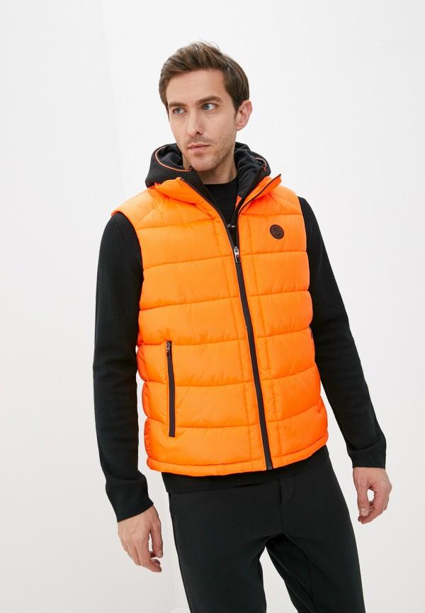 мужской жилет kors x tech, оранжевый