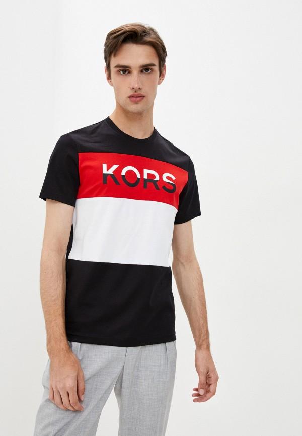 мужская футболка kors x tech, черная
