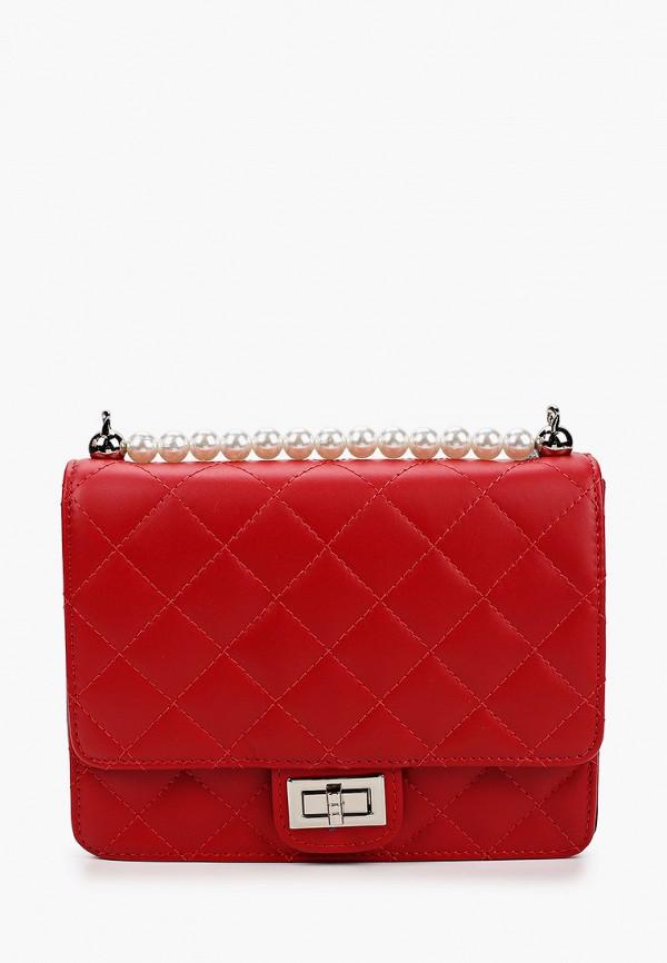 женская сумка kristy.x, красная