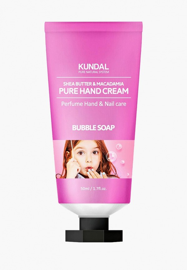 Купить Крем для рук Kundal, BUBBLE SOAP 50 мл, KU005LWAYZZ2, розовый, Осень-зима 2018/2019