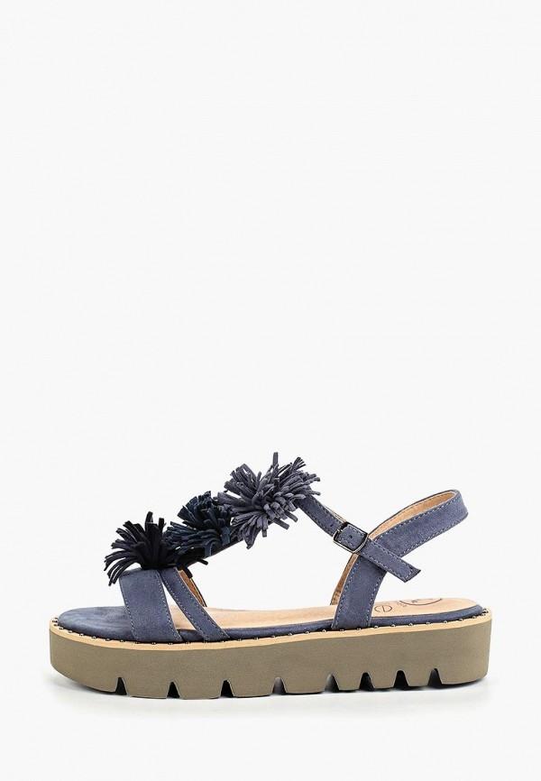 женские сандалии kylie, синие