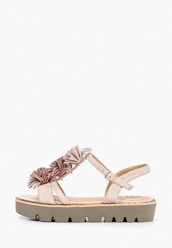 женские сандалии kylie, розовые