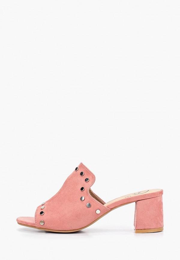 женское сабо kylie, розовое