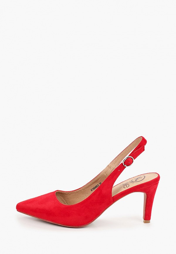 женские туфли kylie, красные