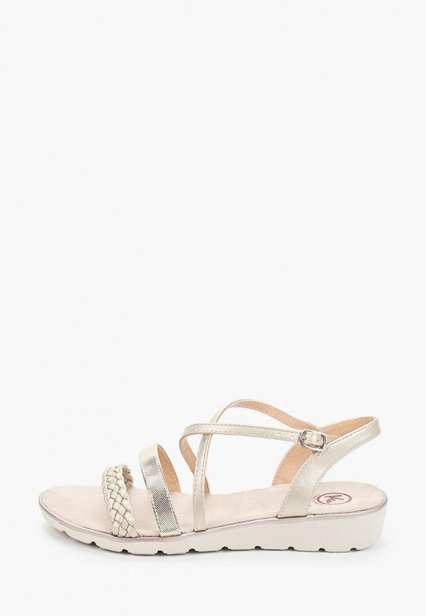 женские сандалии kylie, золотые