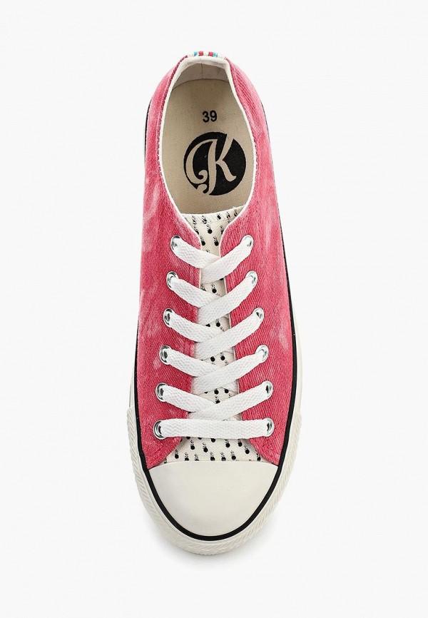 Фото 9 - женские кеды Kylie розового цвета