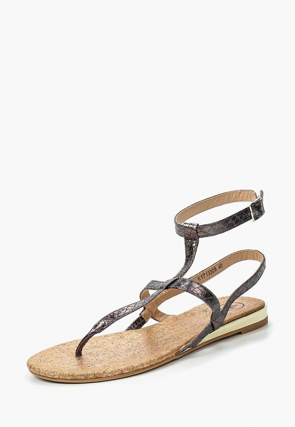 женские сандалии kylie, серые