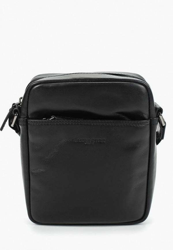 мужская сумка lancaster, черная