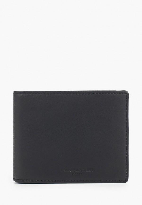 мужской кошелёк lancaster, черный
