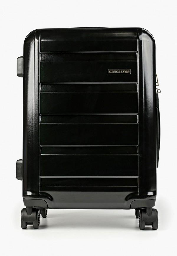 женский чемодан lancaster, черный
