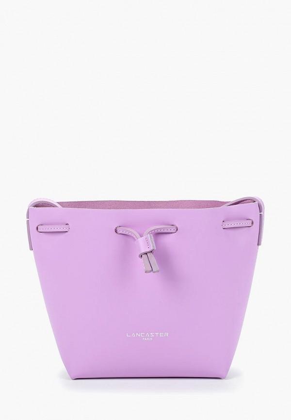 женская сумка lancaster, фиолетовая