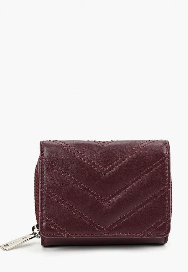 женский кошелёк lancaster, бордовый
