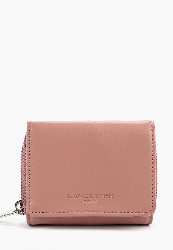 женский кошелёк lancaster, розовый