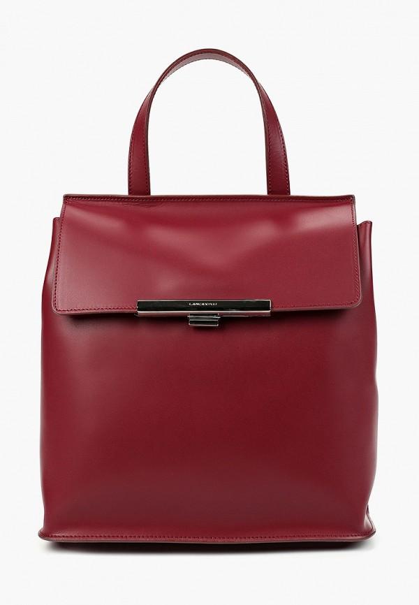 женский рюкзак lancaster, бордовый