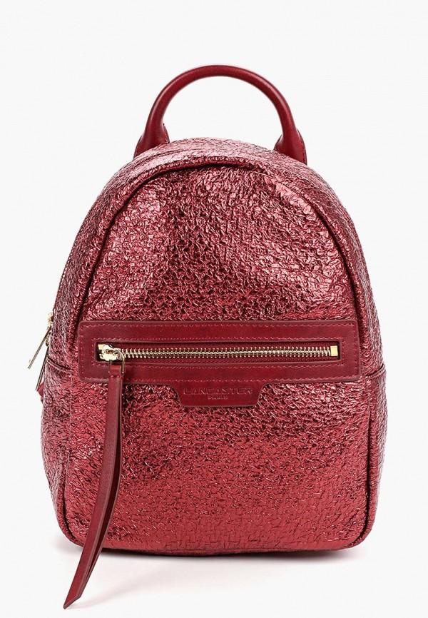 женский рюкзак lancaster, красный